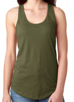NEW Women Soft Ladies Ideal Racerback FitTank TopTee Layer Comfy Cool Sleeveless