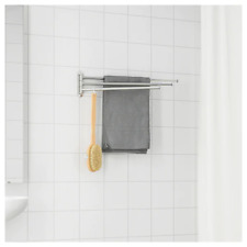 Towel holder 3 bars, stainless steel Brogrund