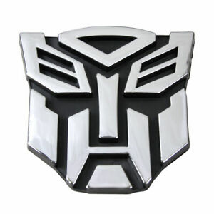 3D Transformer Autobot / Decepticon emblem sticker car badge decal New