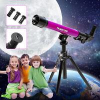 20x/40x/60 Kids Children Astrological Telescope Tripod Science Educational Toys