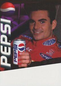 1997 Jeff Gordon Pepsi Cola NASCAR Winston Cup postcard