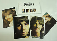 THE BEATLES PROMO SET OF 4 POSTCARDS THE WHITE DOUBLE ALBUM 2018 PAUL McCARTNEY
