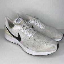 Nike Air Zoom Pegasus 35 Mens US Size 11 White Black Running Shoes Athletic