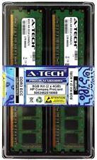 8GB 2 X 4GB error-correcting código UDIMM 1333 HP ProLiant MicroServer G7 N54L N36L N40L Memoria Ram