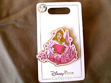 Disney * PRINCESS AURORA & SPARKLE CASTLE * New on Card Trading Pin