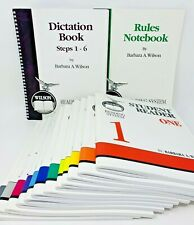 Wilson Reading System Set Student Readers 1-12 Literature Vocabulary Home School