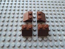 Lego Schrägsteine 3040 Dachsteine 45° 6 Stück 1x2x1 Alt Dunkelgrau 27