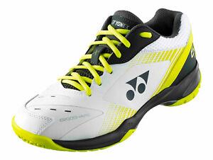Yonex Power Cushion Badminton Squash Indoor Shoes SHB65X, White/Lime, 2021 New