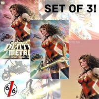 🚨💀🔥 DARK NIGHTS DEATH METAL #3 KINCAID SZERDY Exclusive Set Of 3 Ltd 1000‼️