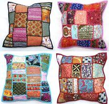 Indian Patchwork Khambadia Cushion Covers
