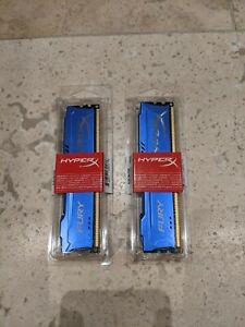 HyperX FURY Series 4GB DDR3 1866MHz CL10 DIMM Memory Module - Blue X 2