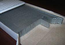 """21 GA Gauge --- 1/2"""" Galvanized BRADS --- New box of 14,000 --- OMER 12mm"""