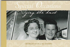 2008 Special Occasions (Tying The Knot) 20 x 55c (SP160) - Prestige Booklet