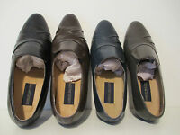 Giorgio Brutini Mens 24461 Bernard Genuine Kidskin Leather Slip-On Dress Loafers