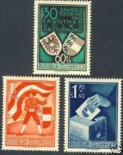 Austria - Scott B269 - B271 Mint Hinged