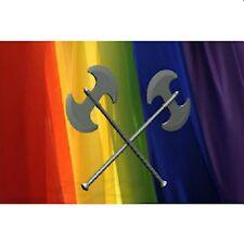 Gay Pride Magnet Refrigerator Magnet Lesbian Labrys Rainbow