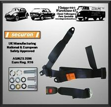 Volkswagen Transporter T4 Van Caravelle Front Rear 3 Point Static Seat Belt Kit