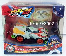 New Boy Scan2Go Kaz Gordon Falgor Racer + Power Card & Turbo Card Figure Pack