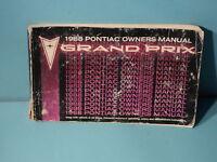 88 1988 Pontiac Grand Prix owners manual
