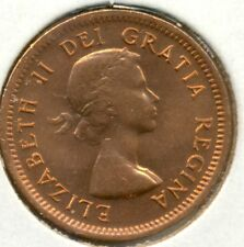 1953 NSF CANADA SMALL CENT, CHOICE/GEM BRILLIANT UNCIRCULATED RED, GREAT PRICE!