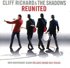Cliff Richard and The Shadows : Reunited - 50th Anniversary (CD)