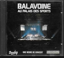 CD ALBUM LIVE 12 TITRES--DANIEL BALAVOINE--LIVE AU PALAIS DES SPORTS