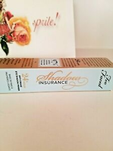 Too Faced 24 Hour Shadow Insurance Eye Shadow Primer 0.35 oz. NIB