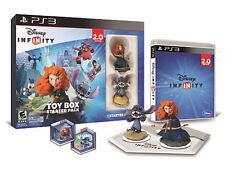 BNiB NEW DISNEY INFINITY 2.0 TOY BOX BRAVE MERIDA STITCH STARTER PACK PAL PS3