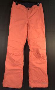 COLUMBIA Omni-Tech Women's Ski Snowboard Pants Peach Size Small