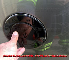 fit:2002-2008 Dodge Ram 1500/03-09 2500 Fuel Door Gas Cap Cover Gloss Black