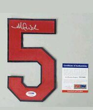 Michael Wacha Autograph #5 Jersey Number St. Louis Cardinals COA PSA#: Y61869