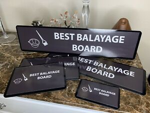 5 Pieces Balayage Highlighting Board Kit.5 Pieces, Perfect For All Lengths Flat.