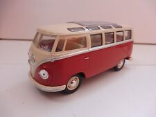 Volkswagen Classic Bus 1/24 KINSMART Rouge Diecast NEUF