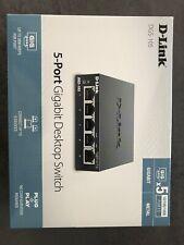 D-Link Switch DGS-105 5-port Gigabit 10/100/1000Mbsp NEUF
