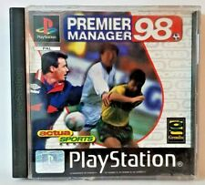 PREMIER MANAGER 98 - PLAYSTATION PS1 PSONE PSX USATO