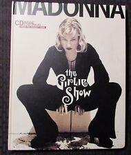1994 MADONNA The Girlie Show Hardcover Concert Tour Book VF 8.0 w/ CD Japan