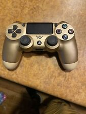 PlayStation 4 controller- Gold