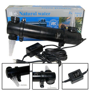 Jebao 36W UV Clarifier Sterilizer 36 Watts For Koi Fish Pond Reef Tank Aquarium