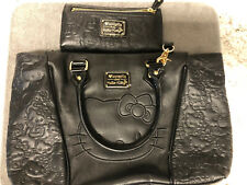 Loungefly Hello Kitty Patent Face Fashion Tote Shoulder Bag. Rare!