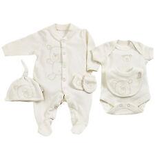 Frühchen-Kleidung Baby 44 50 Set Schlafanzug Body Mütze Latz Naures Purest neu