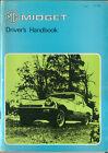 MG Midget 1500 Mk III 1976 UK Original Owners Handbook (GAN6) AKM 3229 4th Ed