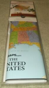 RoomMates Dry Erase US Map Peel and Stick Giant Wall Decal NIB