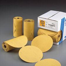 """Norton Gold Reserve 6"""" PSA Disc Rolls Sandpaper Grade P320B (100 discs) - 83822"""