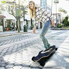 Hi-Flying Pro E-Skateboard (Electric) Longboard with Remote, Tool, 2*350W