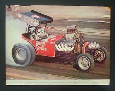 1967 AA/FA NHRA Wild Willie Borsch altered  print car ad 1970 1968