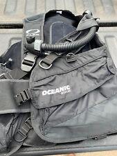 New listing Oceanic Flex Bioflex BCD/ Dive Vest with integrated weight belt Scuba Size XL
