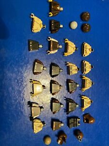 Lego Star Wars Figures & Pieces Incomplete Lot 5 Anakin Jedi Skywalker Luke Obi