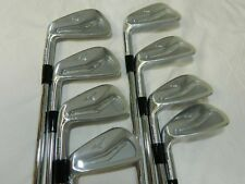New LH Mizuno MP 25 MP25 Iron Set 3-PW Project X 5.5 - Steel shafts Irons