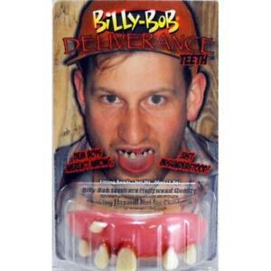 BILLY BOB DELIVERANCE GOOFY FALSE TEETH WITH FIXER