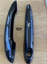 MINI GEN 1/2 CARBON LOOK Door Handle Covers MINI Cooper S R50 R53 R55 R56 R57